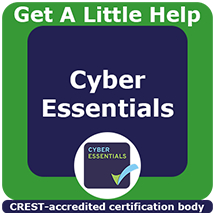 Cyber Essentials Get A Little Help Product Logo